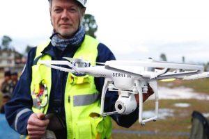 usos profesionales de los drones